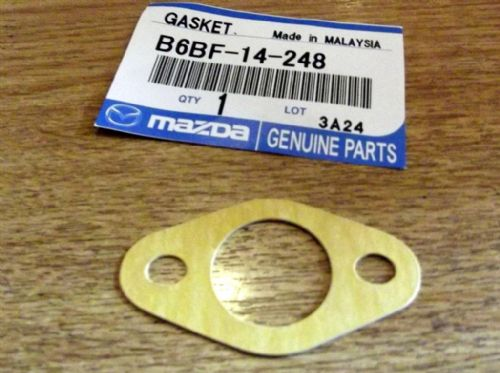 Gasket, oil pickup, genuine Mazda, MX-5, 1993-2005, B6BF14248